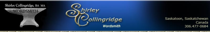 Shirley Collingridge Wordsmith
